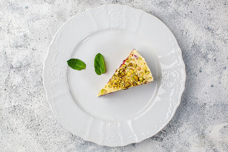 Тарт с белым шоколадом