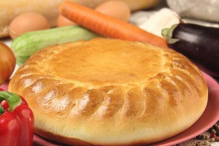 Пирог овощной