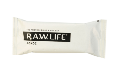 Батончик фруктово-ореховый R. a. w. Life Кокос