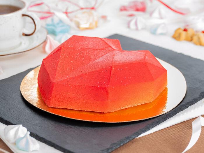 Торт Сердце любви