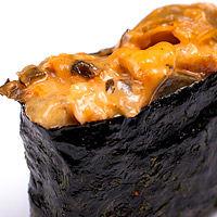 Суши острый с угрем