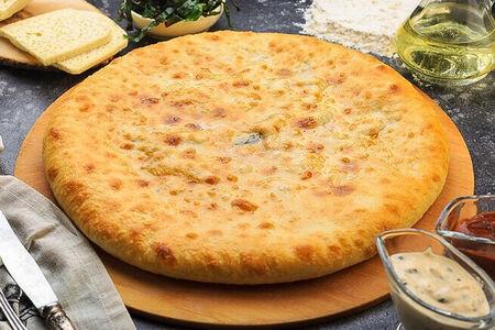 Осетинский пирог со свекольным листьями