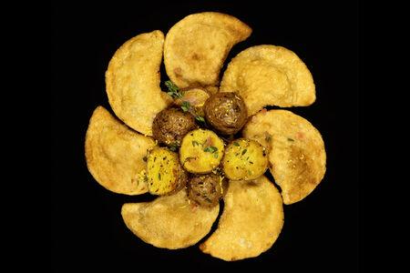 Вареники ручной лепки КриспиПели жареные с картофелем