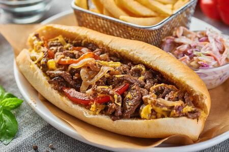 Сэндвич Филадельфия Чиз с говядиной