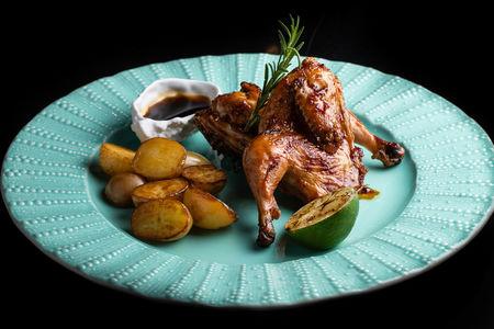 Цыпленок в медово-соевом соусе