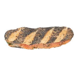 Багет с лососем «Хлеб Насущный»