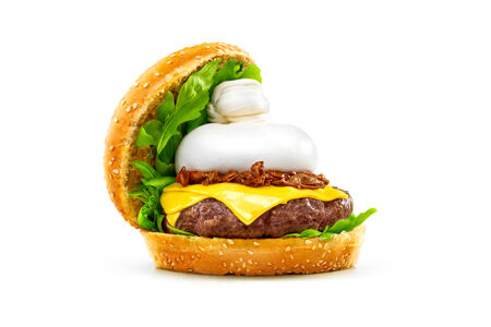 Буррата бургер
