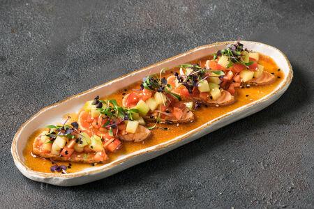 Сашими Нью Стайл с лососем