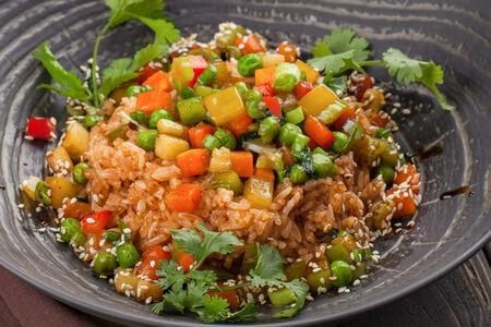 Рис Жасмин с овощами