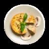 Фото к позиции меню Киш с курицей и грибами