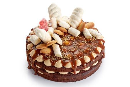 Торт Сливочная карамель