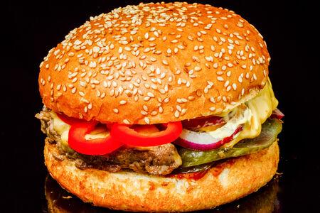 Бургер Баранина