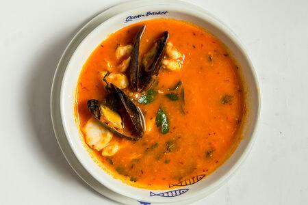 Суп Томатный из морепродуктов
