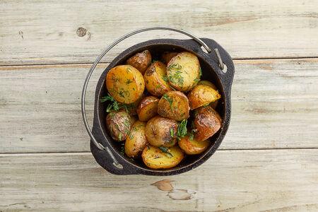 Картофель жаренный по-грузински