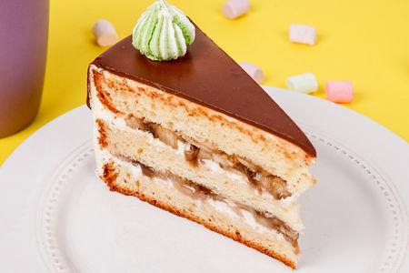 Торт Сметанник с бананом