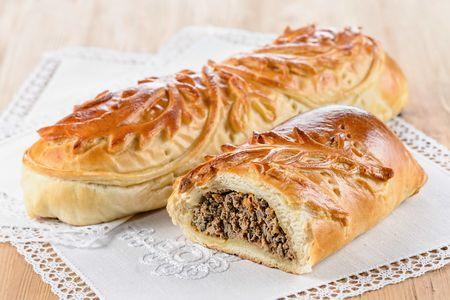 Пирог с телятиной