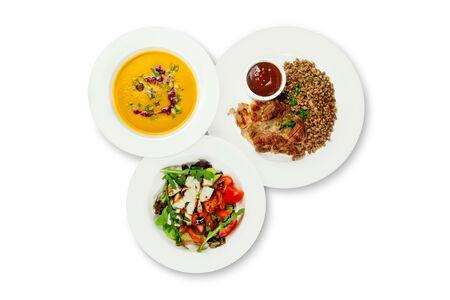 Обед из 3х блюд
