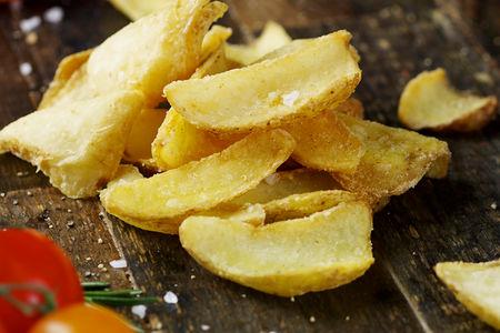 Картофель слайсы