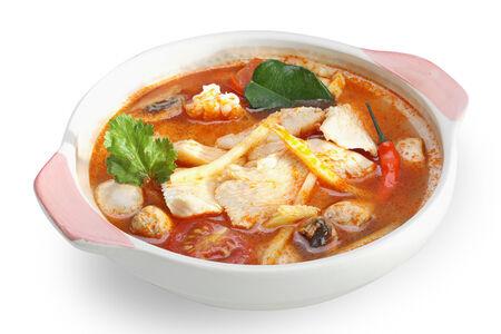 Куриный суп по-тайски Том ям кай
