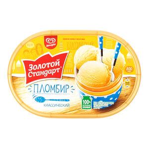 «Золотой стандарт» Пломбир классический