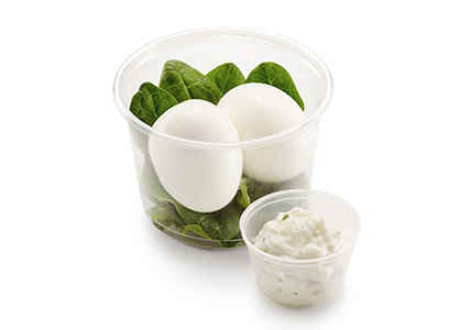 Шпинат и яйцо Green pot