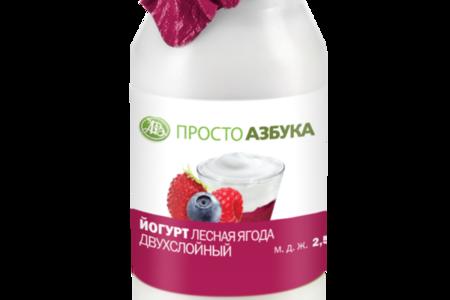 Йогурт в бидончике Лесные ягоды 2.5%