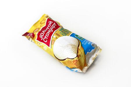 Мороженое Золотой стандарт Пломбир