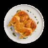 Фото к позиции меню Цыпленок под чесночной корочкой