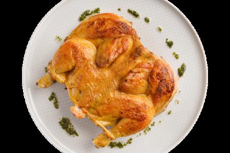 Цыпленок под чесночной корочкой