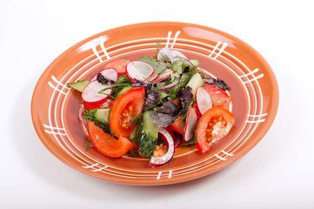 Фирменный салат Огород