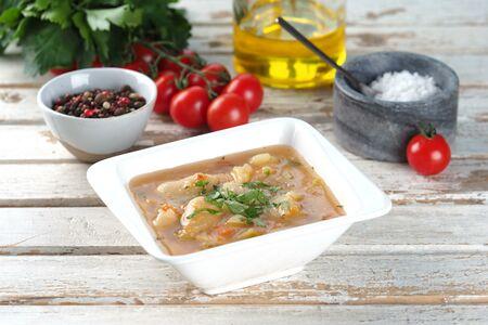 Суп овощной с кабачками