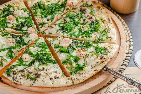 Пицца Креветки и шпинат