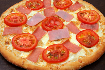 Пицца Сливочная на тонком тесте