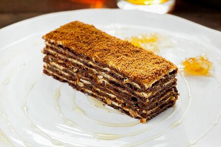 Торт Медовик с альпийским мёдом