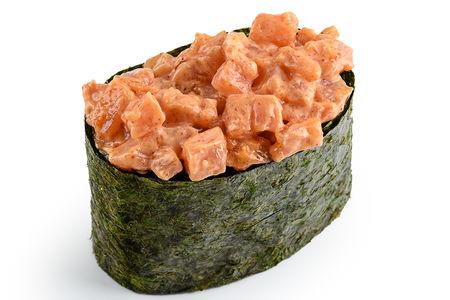 Суши Спайси копчёный лосось