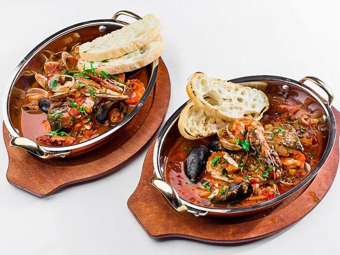 Суп Традиционный рыбный качукко от шефа на двоих