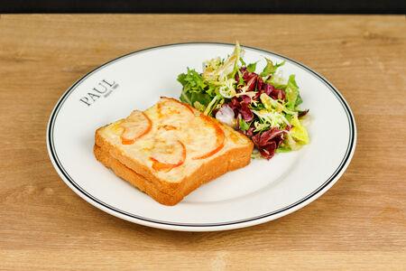 Крок Месье на тостовом хлебе
