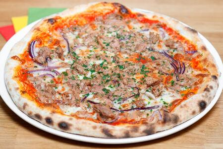 Пицца Тунец и лук