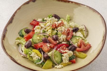 Деревенский овощной салат Бирман