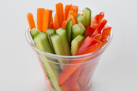 Овощи в стаканчике