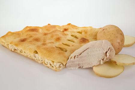 Пирог с индейкой и картофелем