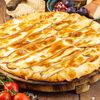 Фото к позиции меню Хачапури с копченым сыром Сулугуни