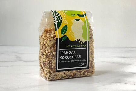 Гранола кокосовая с миндалем и кленовым сиропом