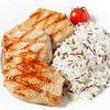 Фото к позиции меню Филе индейки на гриле с рисом