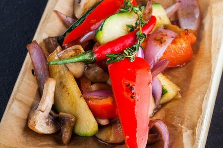 Овощи в соусе бальзамик