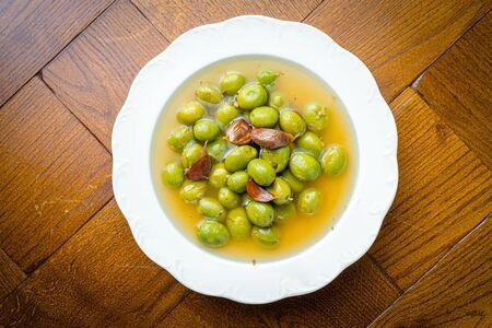 Цитрусовые оливки