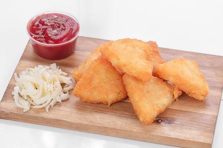 Картофельные котлетки с сыром