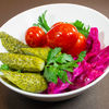 Фото к позиции меню Малосольные овощи