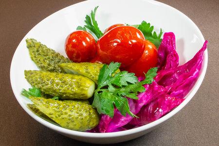 Малосольные овощи