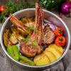 Фото к позиции меню Жаркое из телячьей корейки с овощами по-азербайджански